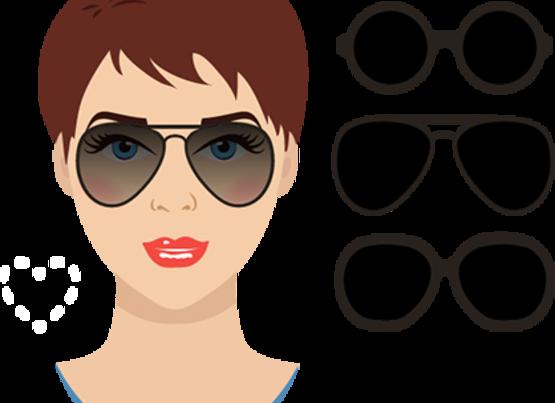 kalp - Gözlük Seçimi