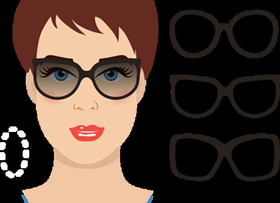 oval - Gözlük Seçimi