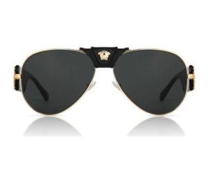 versace Gold Ve2150q 100287 Gold 300x254 - Versace VE2150Q Unisex Güneş Gözlüğü