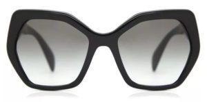 PRADA Sunglasses PR16RS 1AB0A7 Black 56MM 1 300x149 - Prada PR16RS Kadın Güneş Gözlüğü